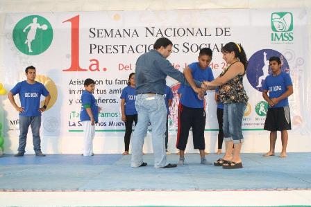 """Clausura IMSS """"Primera semana nacional de prestaciones económicas y sociales"""""""