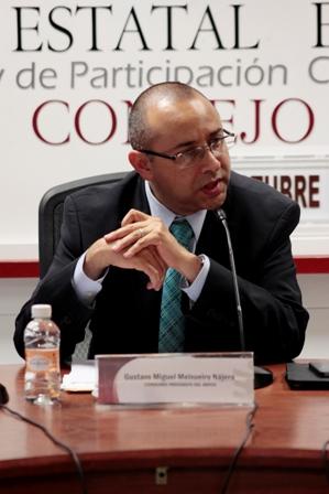 Consejero presidente de Organismo Público Local Electoral de Oaxaca
