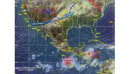 Potencial de desarrollo ciclónico