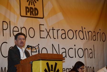 Presidente del CEN del PRD
