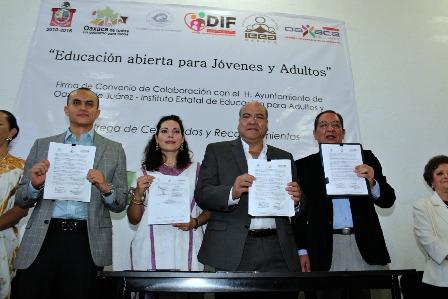 Municipio de Oaxaca e IEEA