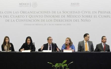 Cumplimiento de la Convención de los Derechos del Niño