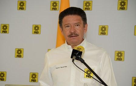 Dirigente nacional del PRD