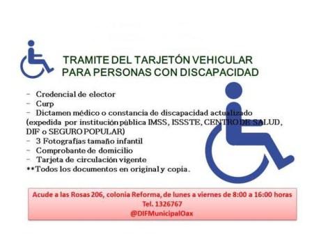 Respetan derecho de las personas con discapacidad a la movilidad