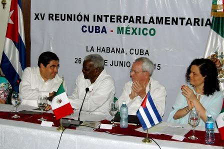 Parlamentarios de ambos países impulsarán relaciones bilaterales