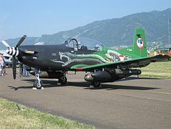 Sufre accidente avión Pilatus PC-7 Matrícula 2517