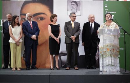 """Inauguran en Sao Paulo exposición """"Frida Kahlo-Conexiones entre las mujeres surrealistas en México"""""""