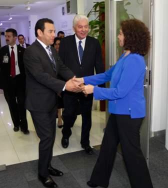 Presidente electo de Guatemala