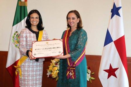 Vicepresidenta de Panamá - Canciller de México