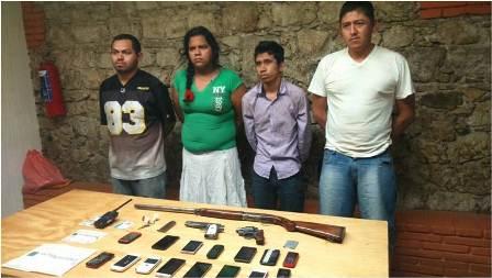 Son detenidos en Ocotlán