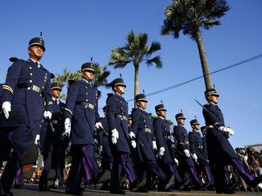 Cadetes del Heroico Colegio Militar y Colegio del Aire