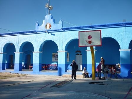 Lista cancha de Yucuñuti, Oaxaca