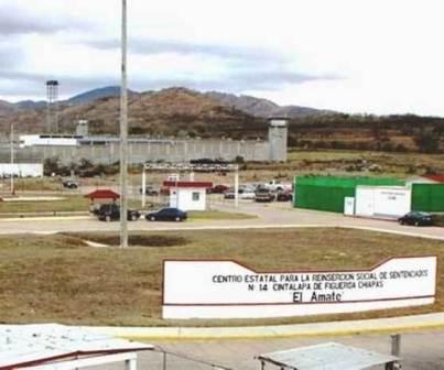 "Penal ""El Amate"" en Cintalapa"
