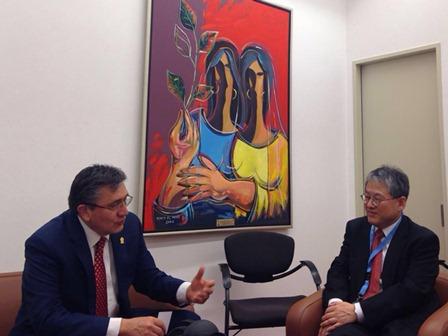 Ombudsman mexicano - Funcionario de la ONU