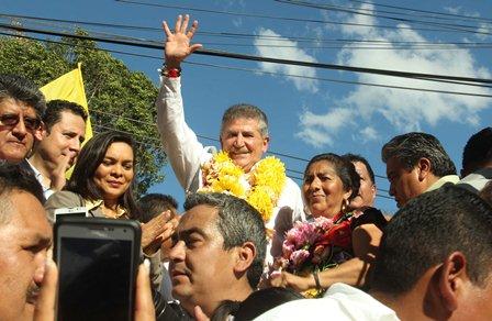 Candidato a gobernador PRD-PAN