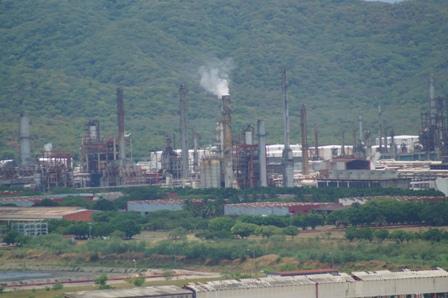 Planta en la refinería de Salina Cruz