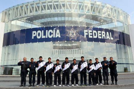 Realiza acondicionamiento físico en la Policía Federal