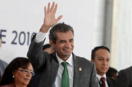 Líder nacional del PRI