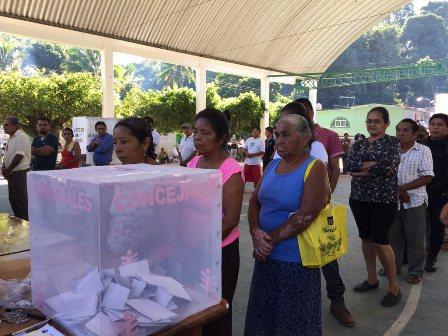 Elección en San Miguel del Puerto