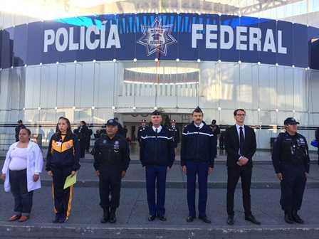 Visita Centro de Mando de la Policía Federal