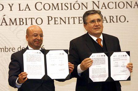 Titulares de la CNS y CNDH