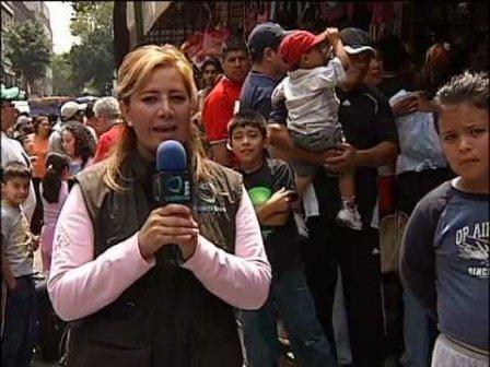 Periodista mexicana