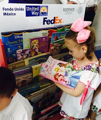 Fondo Unido México-FedEx y Larousse México