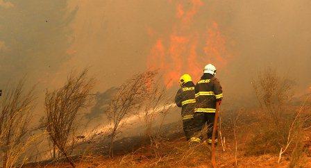 Para combatir incendios en Chile