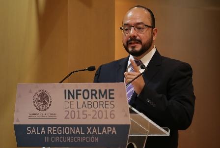 Presidente de la Sala Regional Xalapa del TEPJF