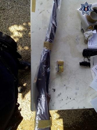 En acciones separadas, policías estatales detuvieron a dos sujetos armados: SSPO