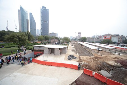 En contra del CETRAM Chapultepec