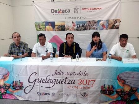 Fiestas de Julio en Oaxaca