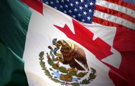 México, Estados Unidos y Canadá