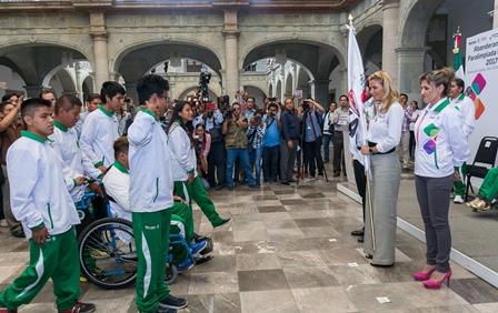 asistirán a la Paralimpiada 2017