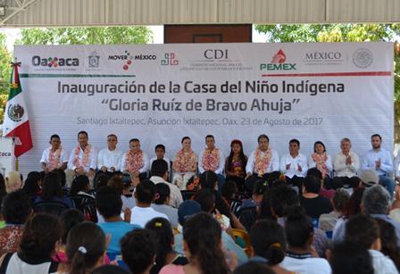 Aporta PEMEX 11mdp para la rehabilitación de la Casa del Niño Indígena en Oaxaca