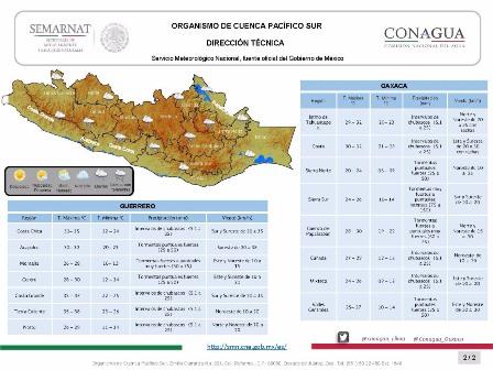 En las próximas horas en Oaxaca