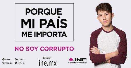 Campaña institucional del INE