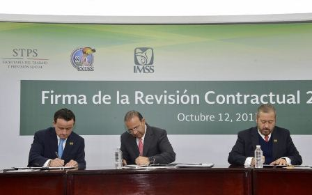 Concluyen IMSS y SNTSS