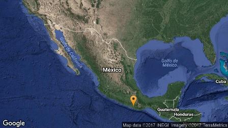 Con epicentro de Pinotepa Nacional