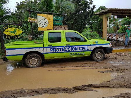 Ante los daños originados por lluvias