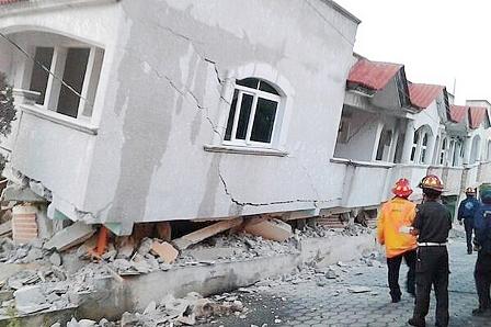 Por los sismos de septiembre