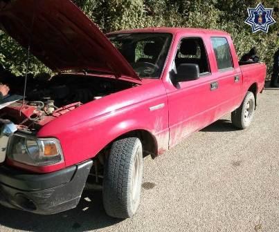 Recupera Policía tres automotores en acciones de seguridad en Oaxaca