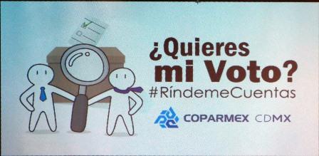 Campaña que inició hoy la COPARMEX CDMX