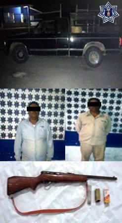 Detiene Policía de Oaxaca a tres personas armadas en recorridos regionales de seguridad