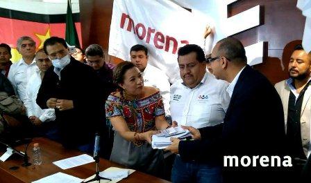 Presidenta de Morena en Oaxaca