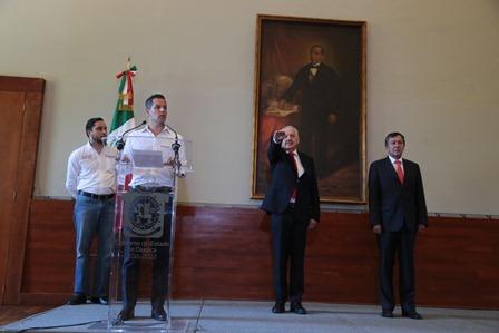 Secretario de Salud en Oaxaca