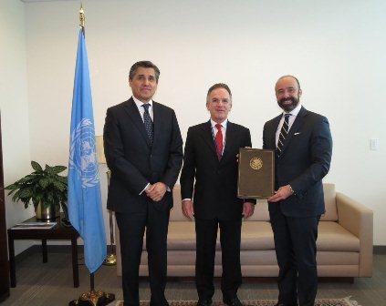 Embajador y subsecretario para Asuntos Multilaterales y Derechos Humanos