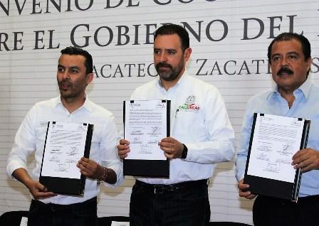 Diconsa y Gobierno de Zacatecas