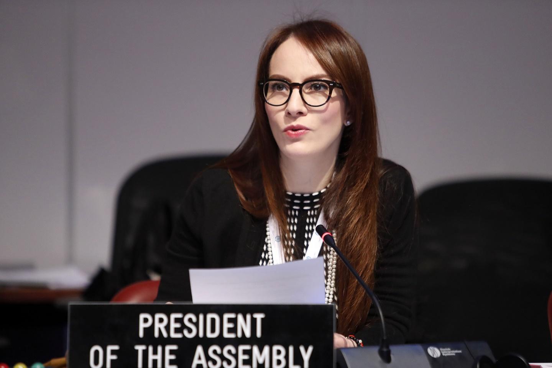 Presidenta de la UIP y senadora mexicana