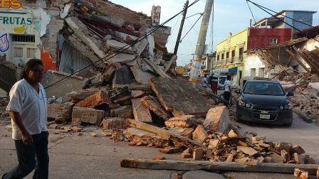 Para atender a menores por sismos